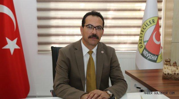 Nevşehir Gazeteciler Cemiyetinden Başkan Arı'ya destek