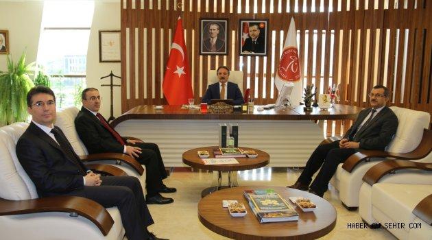Nevşehir Gençlik Hizmetleri ve Spor İl Müdürü Ünlüer'den Rektör Bağlı'ya Ziyaret