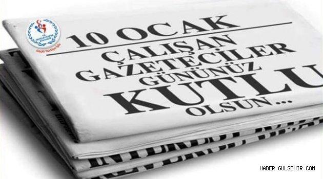 Nevşehir Gençlik Hizmetleri ve Spor İl Müdürü ÜNLÜER'den 10 Ocak mesajı.