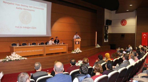 Nevşehir Hacı Bektaş Veli Üniversitesi Kalite Yolculuğuna Başlıyor