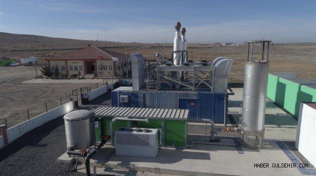 Nevşehir'in Çöpünden  Elektrik Üretiliyor.