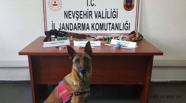 Nevşehir Jandarmasından Uyuşturucu Operasyonu.