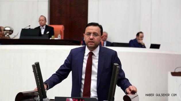 Nevşehir Milletvekili Gizligider, TBMM de Gündem Dışı konuşmalar bölümünde Konuştu