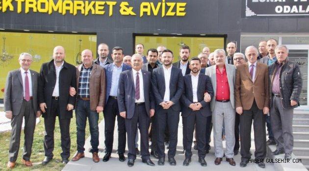 Nevşehir Oda Başkanları'ndan Rasim Arı'ya tam destek!