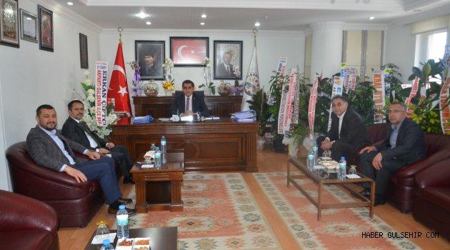Nevşehir Protokolünden Başkan Fatih Çiftçi'ye Ziyaret
