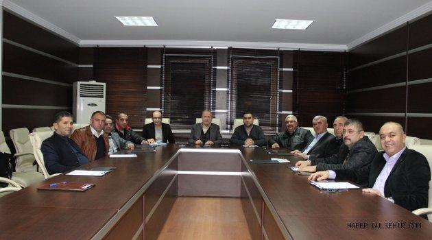 Nevşehir Ticaret Borsası Şubat ayı olağan meclis toplantısı yapıldı.