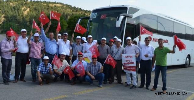 Nevşehir Ticaret Borsası, Teröre Hayır Kardeşliğe Evet Yürüyüşüne Katıldı.