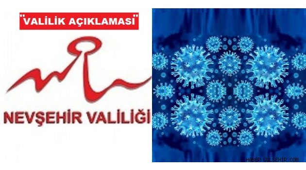 Nevşehir Valiliğinden ''Korona-virüs Tedbirleri'' Açıklaması.