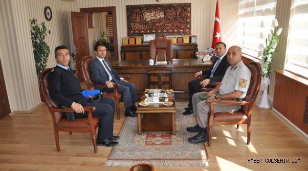 Nevşehir Valisi Aktaş'dan, Kaymakam Ertekin'e ziyaret.