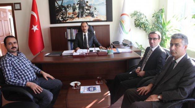 Nevşehir Ziraat Mühendisleri Odası'ndan; İl Müdürlüğü'ne Ziyaret