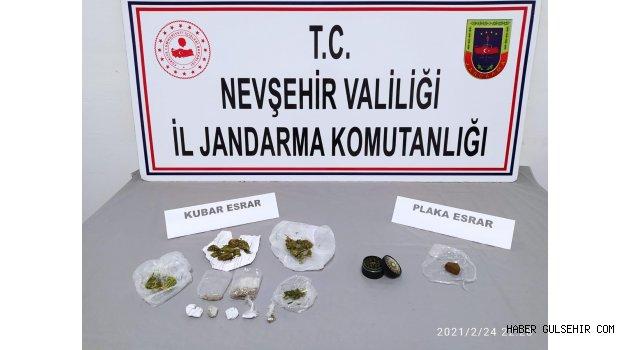 Nevşehir'de Plaka Esrar (Afgan Macunu) Ele Geçirildi.