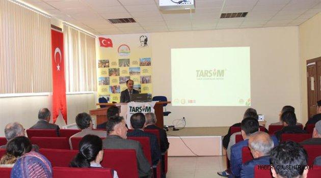 Nevşehir'de Tarım Sigortaları Anlatıldı.