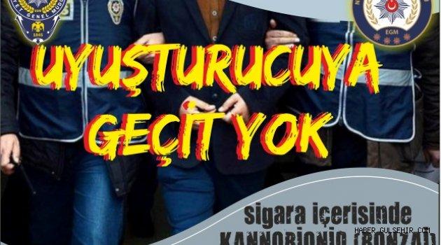 Nevşehir'de Uyuşturucu Operasyonları Aralıksız Devam Ediyor.