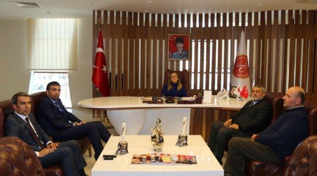 Nevşehirliler Federasyonu Başkanı Şen'den Rektör Kılıç'a Ziyaret