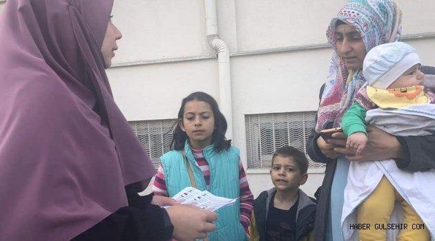 NEVÜ Fen Bilgisi Eğitimi Öğrencileri Anneleri Bilinçlendirmeye Devam Ediyor