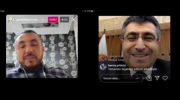 NEVÜ Rektörü Aktekin Sosyal Medya Üzerinden Öğrencilerle Söyleşide Buluştu