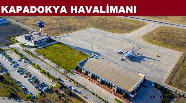 Nisan Ayında Kapadokya Havalimanı'nda 45,300 Yolcu'ya Hizmet verildi