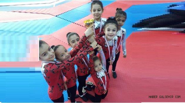 Okul Sporları Cimnastik Müsabakaları Tamamlandı.
