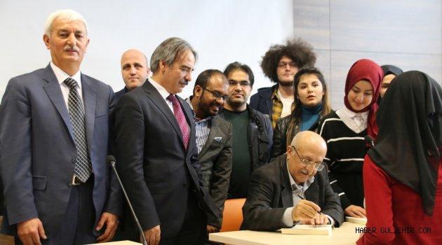 Prof. Dr. Aydın NEVÜ'de 'Birlikte Yaşama Sorunu' Üzerine Konuştu