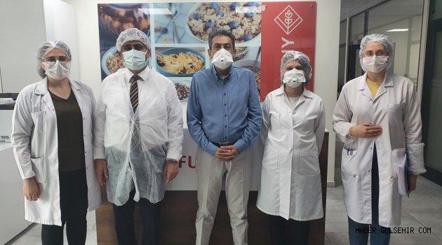 Rektör Aktekin'den Funny Gıda ve Funny Cam A.Ş.'ye Ziyaret