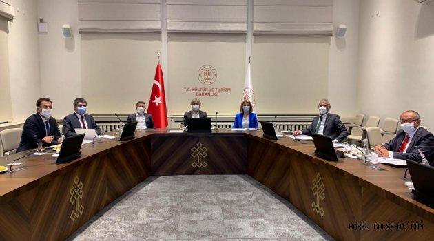 Rektör Aktekin, Kültür ve Turizm Bakanlığı'nda Değerlendirme Toplantısında