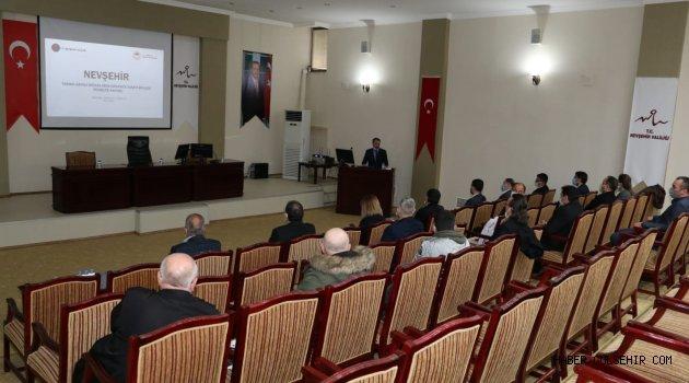 Rektör Aktekin, Tarıma Dayalı Sera İhtisas Organize Sanayi Bölgesi Fizibilite Raporu Sunum ve Değerlendirme Toplantısına Katıldı