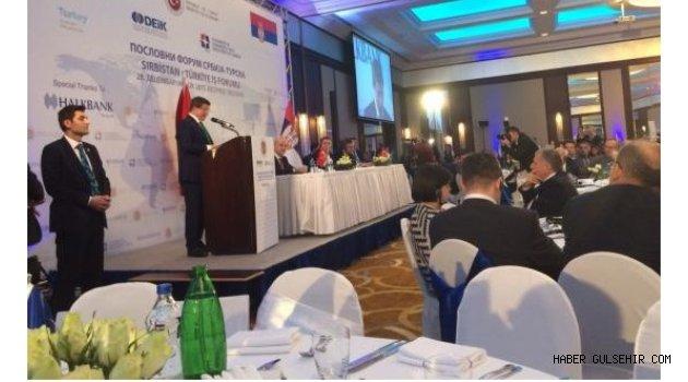 Rektör Kılıç, Başbakan Davutoğlu ve Beraberindeki Heyet ile Sırbistan'a Gitti
