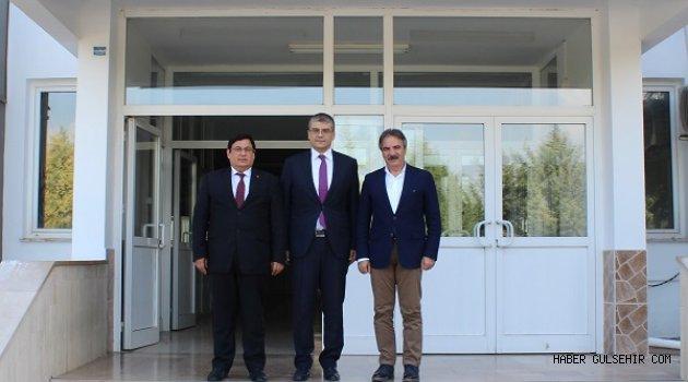 Rektör Prof. Dr. Mazhar Bağlı, Tarsus Üniversitesi Rektörü Prof. Dr. Orhan Aydın'ı ziyaret etti