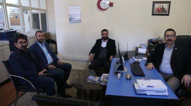 Sağlık-Sen´den Gazeteciler Cemiyeti´ne ziyaret