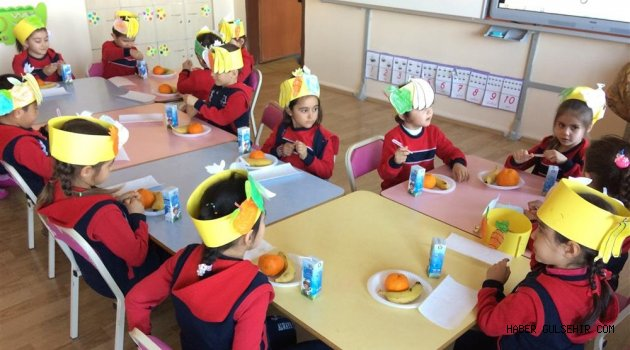Sağlıklı Meyve Tabağım Etkinliği Düzenlendi