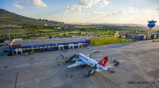Şubat Ayında Kapadokya Havalimanı'nda 19,730 Yolcuya Hizmet Verildi.