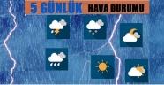 3-7 Mayıs Tarihleri Arasındaki Gülşehir 5 Günlük Hava Durumu.