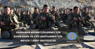 Nevşehir Belediyesi Tarafından Mevlid-i Şerif ve Zafer Programı