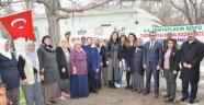 Çilek Yetiştiriciliği Projesi Yeniyaylacık Köyünde Tanıtıldı