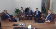 Vali AKTAŞ'dan Hukuk Bürosuna Ziyaret.