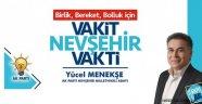 """AK Parti Milletvekili Adayı Menekşe, """" Recep Tayyip Erdoğan'a AK Parti'ye Vefa Borcumuzu Ödeyelim"""""""