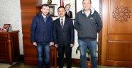Afrin Gazisi Didinmez'den Vali Aktaş'a Ziyaret.