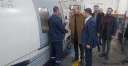 Başkan Seçen, ve Başkan Adayı Arı'dan Organize Sanayi Bölgesine Ziyaret