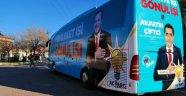 Fatih Çiftçi, Seçim Propagandasını Yolcu Otobüsü ile Yapacak.