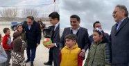 Milletvekili Menekşe ve Çiftçi Tuzköy İlkokulundaki Minikleri Ziyaret Ettiler.