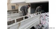 Milletvekili Açıkgöz'den Suriyeli Mültecilere Kömür Yardımı.