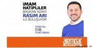 Nevşehir'de İmam Hatipliler AK Parti Nevşehir Belediye Başkan adayı Rasim Arı ile buluşuyor