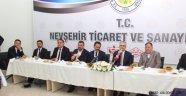 Naci Ağbal, Nevşehir'e müjdelerle geldi!...