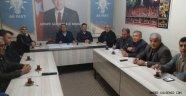 Ak Parti İlçe Teşkilatı Seçim Sonrası İlk Toplantısını Yaptı.