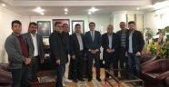 MHP'li Kürk'den Başkan Çiftçi'ye Tebrik Ziyareti
