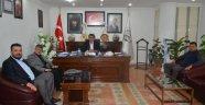 Gülşehir Eski belediye Başkanı Dursun, Başkan Çiftçi'ye Hayırlı Olsun Ziyaretinde Bulundu.