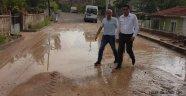 Belediye Başkanı Çiftçi, Selden Zarar Gören Yerleri Ziyaret Etti