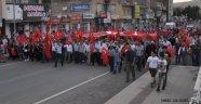 Gülşehir'de Milli Birlik ve Demokrasi Yürüyüşü Gerçekleştirildi.