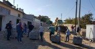 Gülşehir Sokaklarında Kilitli Parke Taş Döşeme İşlemleri Başladı.