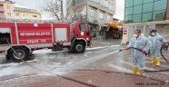 Nevşehir Belediyesi Caddeleri Dezenfekte Ediyor.